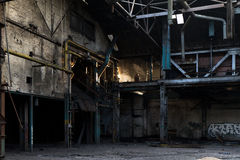 Abandoned Industry Stock Image