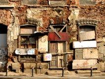 Abandoned Inn Stock Photo