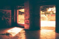 Abandoned interior Stock Photo
