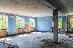 Abandoned interior Stock Photos
