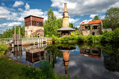 Abandoned ironworks Royalty Free Stock Photos