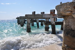 Abandoned Jetty in Jurien Bay Stock Photography
