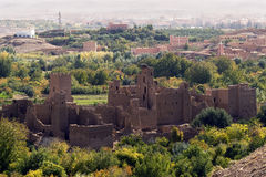 Abandoned Kasbah Royalty Free Stock Images