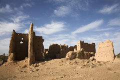 Abandoned Kasbah Stock Photo