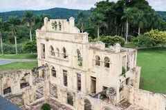Abandoned Kellie's Castle in Batu Gajah, Malaysia Stock Photography