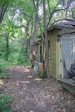 An Abandoned Lake Cottage Stock Photos