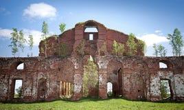 Abandoned landmark, military quarters Royalty Free Stock Images