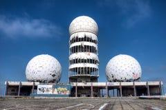 Abandoned listening station Teufelsberg Royalty Free Stock Photo