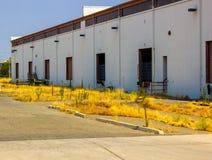 Abandoned Loading Docks royalty free stock images