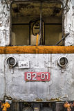 Abandoned locomotive Royalty Free Stock Photo