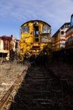 Abandoned Locomotive - Train - Ohio Stock Photos