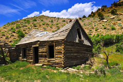 Abandoned Log Cabin Stock Image