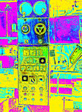 Abandoned Machine Royalty Free Stock Images