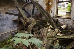 Abandoned machine Stock Images