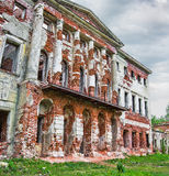 The abandoned mansion Stock Image