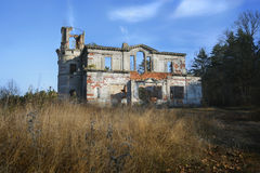 Abandoned mansion Royalty Free Stock Photos