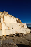 Abandoned marble quarry Stock Photography
