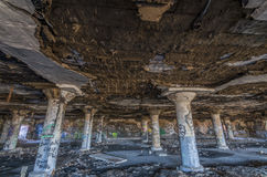 Abandoned Meat Packing Plant Royalty Free Stock Images