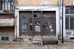 Abandoned shop Stock Photos