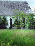 Abandoned meeting house or church in the country Royalty Free Stock Images
