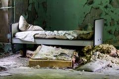 Abandoned mental hospital Royalty Free Stock Photo