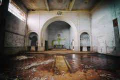 Abandoned mental hospital in Brazil Stock Image