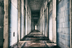 Abandoned mental hospital in Brazil Royalty Free Stock Photography