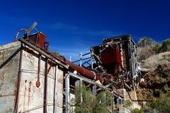 Abandoned Mercury Rotary Furnace Royalty Free Stock Photo
