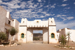 Abandoned mexican village Stock Photo