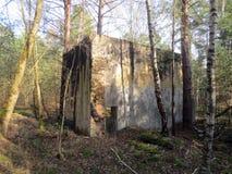 Abandoned military base Royalty Free Stock Photography