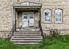 Abandoned Military Building Royalty Free Stock Photography