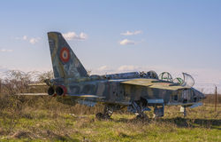 Abandoned military plane Stock Photos