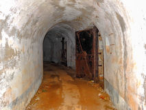 Abandoned military tunnel 2 Stock Photography