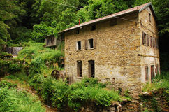 Abandoned Mill Near Salino Royalty Free Stock Photos