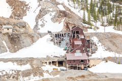 Abandoned mine building Royalty Free Stock Photos