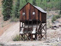 Abandoned mine in Colorado Stock Photos