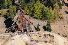 Abandoned Mine in Colorado Royalty Free Stock Images
