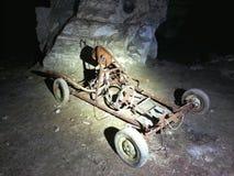 Abandoned mine. France royalty free stock image