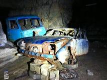 Abandoned mine stock photography