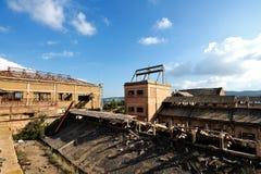 Abandoned mine in Iglesias, Sardinia Royalty Free Stock Photo