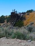 Abandoned Mine in Manhattan, NV Royalty Free Stock Images