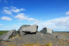 Abandoned mine. Northern Finland, Lapland stock image