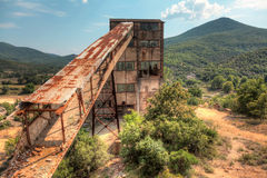 Abandoned mine Stock Images