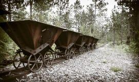 Abandoned mine Royalty Free Stock Images
