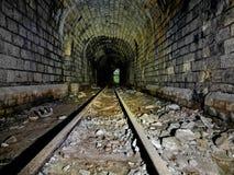 Abandoned mine. Railway stock photos