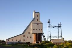 Abandoned Mine - Shaft House Stock Photo