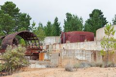 Abandoned Mine Site Royalty Free Stock Images