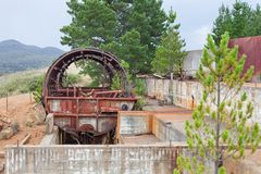 Abandoned Mine Site Stock Images