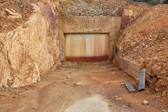 Abandoned Mine Site Stock Photography