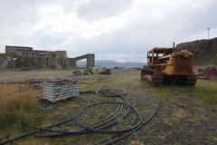 Abandoned mine Royalty Free Stock Photography